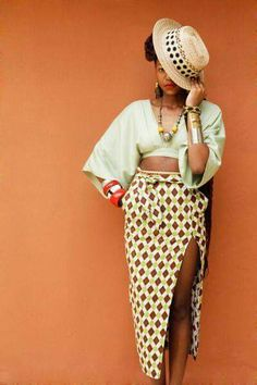 Nice!! ~African fashion, Ankara, kitenge, African women dresses, African prints, African men's fashion, Nigerian style, Ghanaian fashion ~DKK