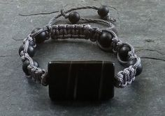 Check out this item in my Etsy shop https://www.etsy.com/listing/240576656/mens-bracelet-shambala-bracelet-gray-and