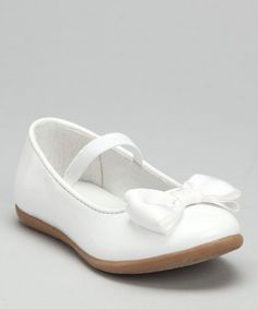 Take a look at this White Kristen Ballet Flat by Carter's on #zulily today! http://www.zulily.com/invite/vhanson979