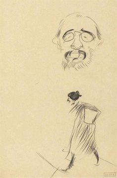 Henri De Toulouse-Lautrec (1864-1901)  Lautrec par lui-même