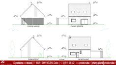 JG Dessin Architectural - Facades pour Permis de construire d'une maison passive à CAMPHIN EN CAREMBAULT (59133)