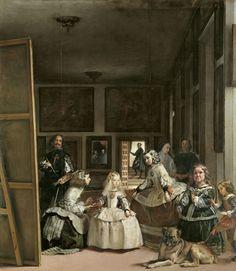 VELÁZQUEZ, DIEGO RODRÍGUEZ DE SILVA Y Las meninas, o La familia de Felipe IV