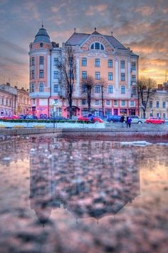 Filarmoniya plazza, Chernivtsi, W Ukraine,from Iryna with love