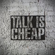 Metal Plaka - Talk is Cheap