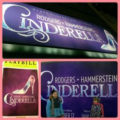 Cinderella on Broadway. After a whole summer performing this show, you'd think I'd be sick of it by now. But I'm so not.