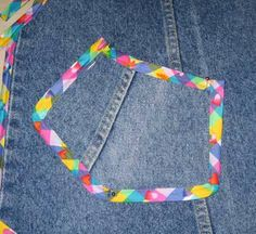 PART The Bib Apron Here's Part 1 of the tutorial I promised in my post from . Sewing Jeans, Sewing Aprons, Sewing Clothes, Jean Crafts, Denim Crafts, Easy Apron Pattern, Jean Apron, Waist Apron, Recycle Jeans