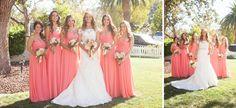 Rustic Coral Wedding | www.beccarillo.com