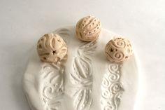 Outil de Texture dargile boule petite Sculpture au par GiselleNo5