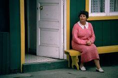 Mujer de Chonchi, Isla de Chiloe, Chile