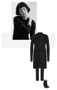 """/"" by darkwood ❤ liked on Polyvore featuring Rick Owens and Vince"