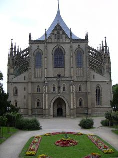 St. Barbara's Cathedral, Kutna Hora (near Praha), Czech Republic- this is the most amazing Cathedral I have ever seen and visited so far; why it was built, how and the stories and history behind the people who made it possible is all unreal. This is what made me realize how enthralled I am with Cathedrals.
