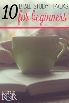 Here are 10 Bible Study hacks for beginners and new Christians to help make Bible study fun, effective, and consistent! I love this!