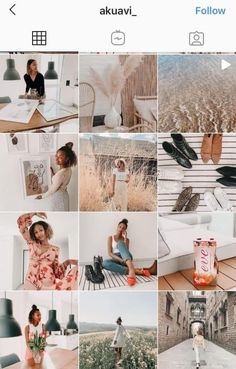 20+ of the hottest Instagram feed themes with tips to re-Create them yourself! | Gorgeous aesthetics including: Moody, Black and White, Pink, Feminine, Pastel, Bright, Vintage. | Grow your business through the right Instagram feed aesthetic. White Instagram Theme, Black And White Instagram, Instagram Apps, Instagram Feed, Pastel Feed, White Feed, Vsco Themes, Black And White Aesthetic, Your Photos