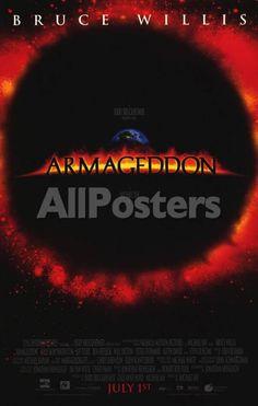 Armageddon Movies Masterprint - 28 x 43 cm
