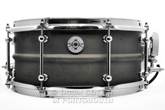 """Dunnett Classic 2N Brass Snare Drum 6.5x14 : Featuring Tube lugs, Hypervent, R4 Strainer, flanged hoops, """"skillet"""" finish - includes Ahead padded bag!  Purchase Here: http://www.drumcenternh.com/drums/snare-drums/dunnett-classic-2n-brass-snare-drum-14x6-5-skillet-finish.html"""