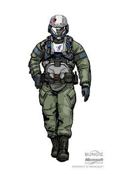 Civilians and Marines Armor Concept, Concept Art, Character Concept, Character Art, Odst Halo, Halo Armor, Halo Series, Combat Armor, Sci Fi Armor