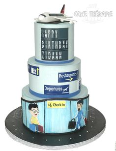 Airport themed cake - Cake by Caketherapie