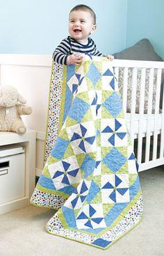 Playful Pinwheels Quilt Kit