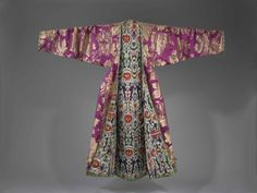 Woman's Coat * with a richly decorated lining. Bukhara, Uzbekistan, late 19th century