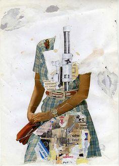 Collage. Via libro Gestalten Cuttin Edges