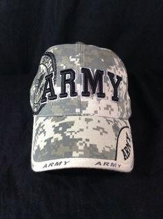 US ARMY Hat DIGI CAMO Strapback Adjustable Cap #SportsCap #BaseballCap