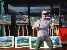 Ben and the mosaics Mosaics, Sporty, Baseball Cards, Style, Fashion, Swag, Moda, Fashion Styles, Mosaic