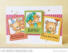 mft beary special birthday card ideas - Google Search