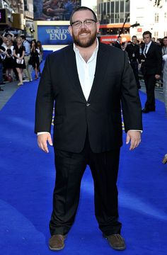 #NickFrost at the premiere of the #WorldsEnd