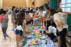 목포백련초등학교, 행복 나눔 녹색장터 운영으로 학부모와 함께 참여하는 이웃돕기