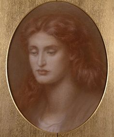 Head of a young woman, by Dante Gabriel Rossetti ©NTPL/John Hammond 19th Century England, John Everett Millais, Victorian Manor, Pre Raphaelite Brotherhood, Dante Gabriel Rossetti, Morris Wallpapers, Royal Academy Of Arts, Mystique, West Midlands