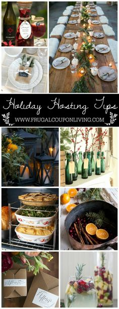 Party and Hosting Tips and Hacks for the Holidays - Thanksgiving, Christmas, Cookie Exchanges and Beyond on Frugal Coupon Living.