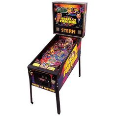 """Refurbished Wheel of Fortune Pinball Machine 