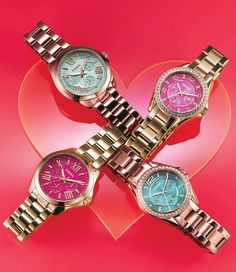 Find time for the one you love, Fossil watches