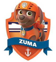 Items similar to paw patrol Zuma poster cartoon dog decor on Etsy Insignia De Paw Patrol, Paw Patrol Badge, Zuma Paw Patrol, Paw Patrol Pups, Paw Patrol Birthday Theme, Paw Patrol Party, Paw Patrol Characters Toys, 4th Birthday Parties, Boy Birthday