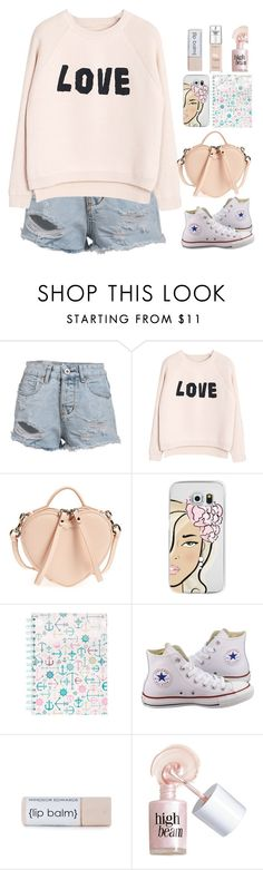 """Untitled #259"" by jovana-p-com ❤ liked on Polyvore featuring WithChic, Marc Jacobs, Casetify, Converse, Benefit and L'Oréal Paris"