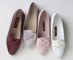 """Lovely Carel shoes coming back from the mid- eighties, the model is called  """"Souris""""."""