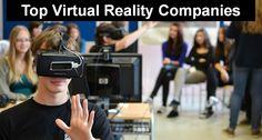 Top Virtual Reality Companies List