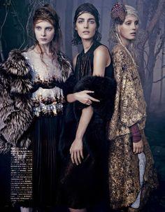 Emma Summerton for Vogue Japan Oct 2014, styling by Giovanna Battaglia