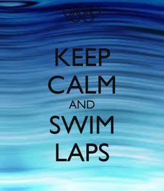 Just Swim! #simple