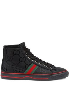 Gucci Boots Mens, Gucci Mens Sneakers, Gucci Shoes, Men's Shoes, Off The Grid, Gucci High Tops, Fresh Shoes, Designer Shoes, Canvas