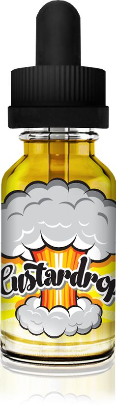 Custard Drop - Volcano ECigs: Bombs away! Custardrop is a unique blend of rich creamy custard spiked with a citrus rush of lemon tart. The perfect yin and yang of sour and sweet has been crafted for your vaping pleasure.