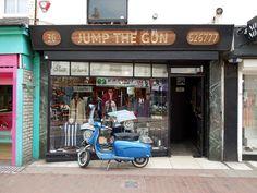 Jump the Gun mod shop Brighton