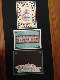Masculine Birthday Cards  ORDERS ACCEPTED, please send me a message; Cards with Charisma