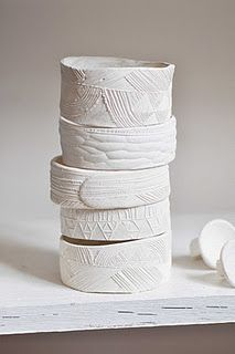 katherine wheeler  | ceramic  I'm very inspired by this artist.  Visit her blog, it is fun.