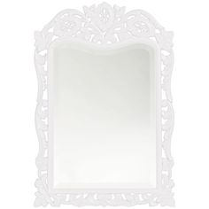Howard Elliott St. Agustine White Mirror 4085W