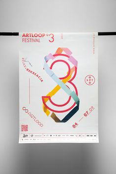 Artloop Festival 2014 by Uniforma Studio