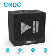 a15f4365b51 CRDC Mini but 100% Powerful Bluetooth Speaker Portable Wireless Stereo Sound  Box Outdoor Handsfree Speaker