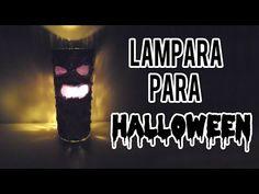 Lampara para Halloween - decora tu cuarto para Halloween - Tutoriales Belen - YouTube