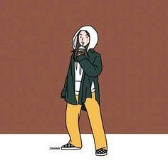 luminary ~'s sinana images from the web Character Illustration, Illustration Art, Illustrations, Arte Indie, Character Art, Character Design, Dibujos Cute, Cartoon Art Styles, Korean Art