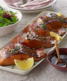 Learn how to make a delicious Sweet and Sticky BBQ Salmon